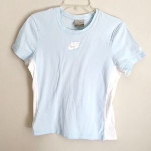 Vintage Nike Logo Swoosh Women's Fitted T-Shirt